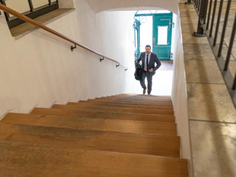 Schima Rechtsanwälte Passau | Aufgang